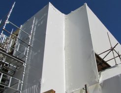 Shrink wrapping experts, Supercity Scaffolding, Auckland-wide